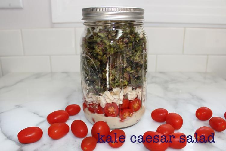 kale caesar salads