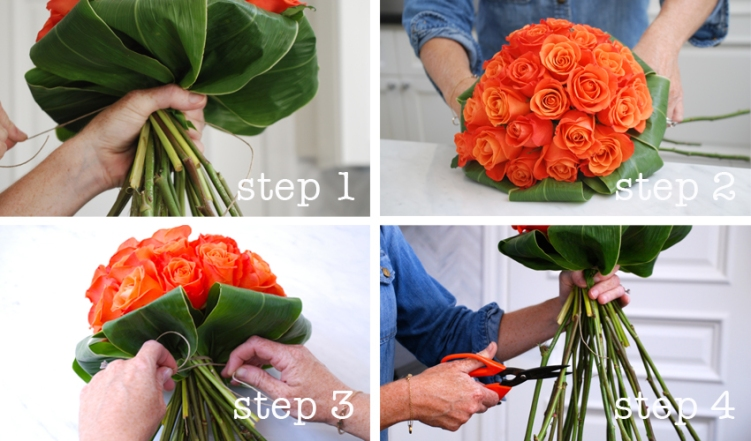 hand-tied-bouquet-tieing