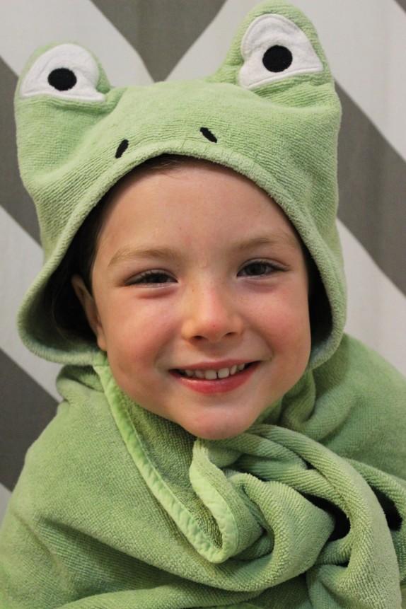froggie towel 2