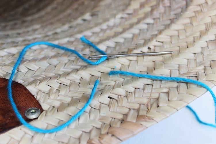 Pom pom sewing 3