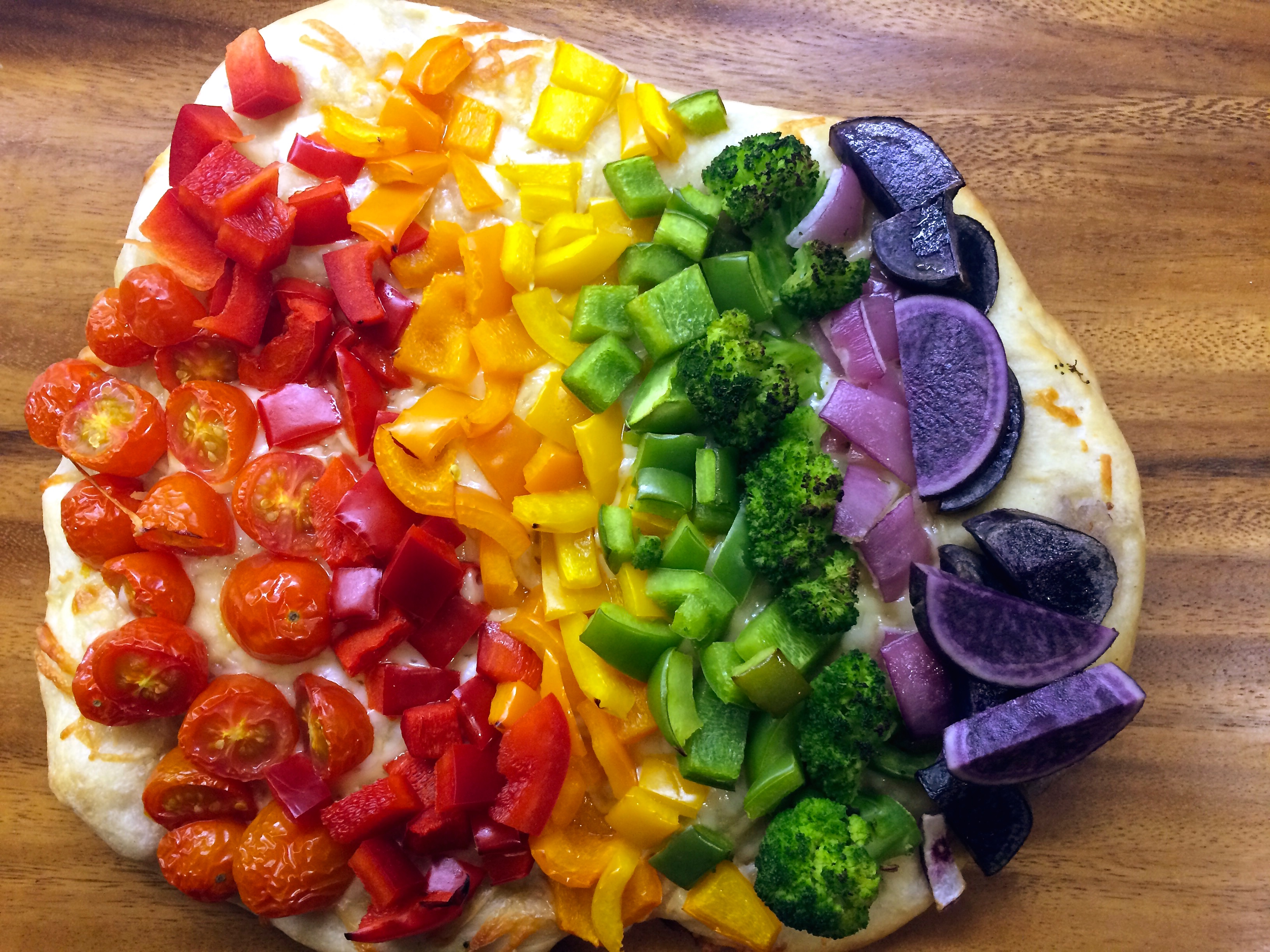 Related Keywords & Suggestions for rainbow pizza