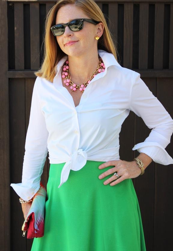 white-shirt-dress