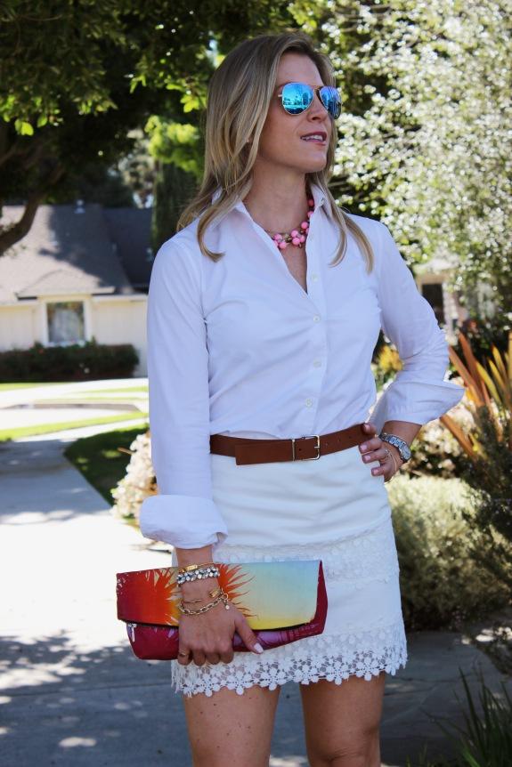 white-shirt-white-skirt
