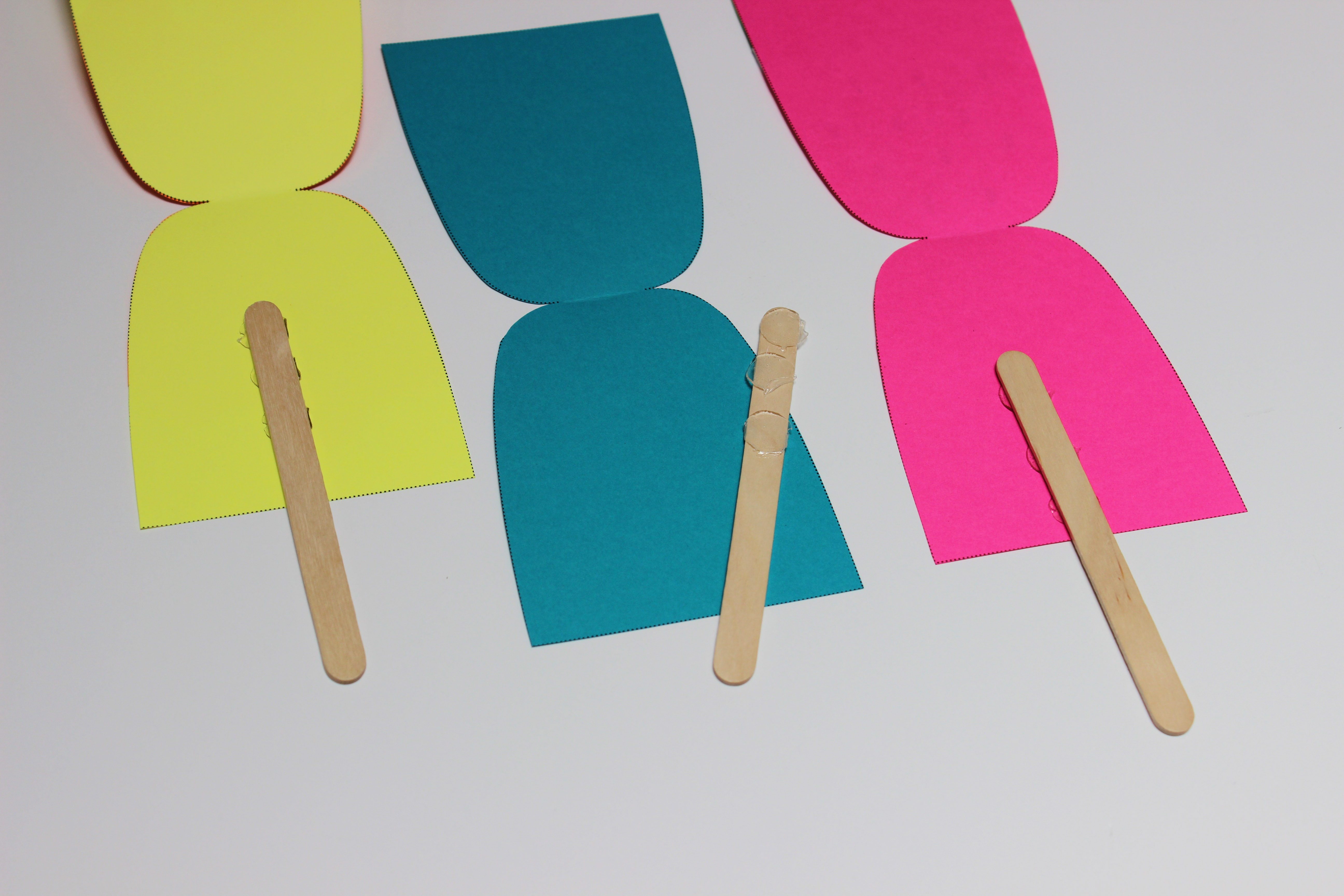 diy popsicle garland | jane can