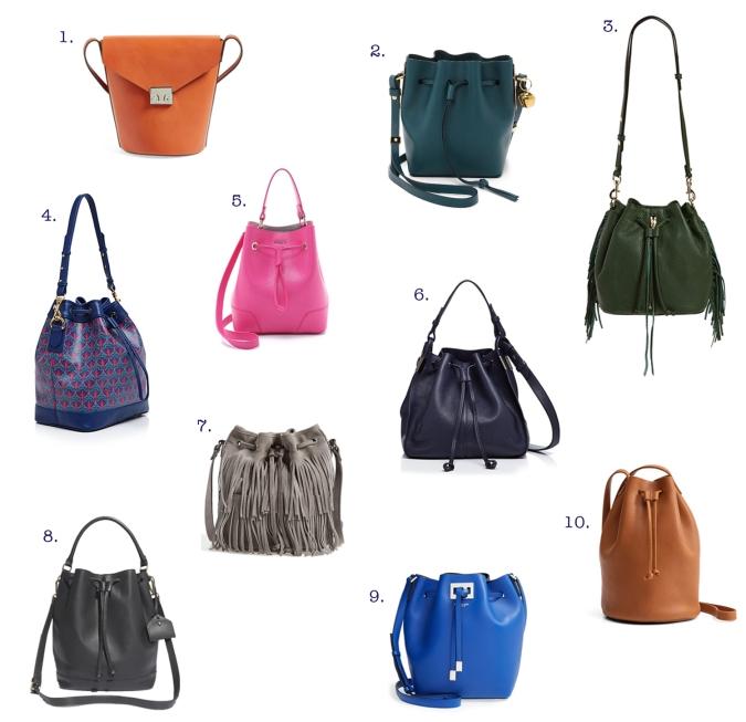 favorite bucket bags