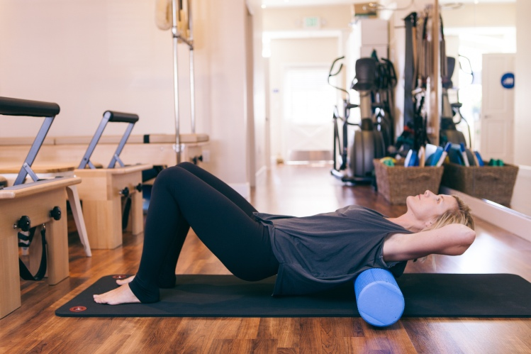 Foam Rolling-Upper back