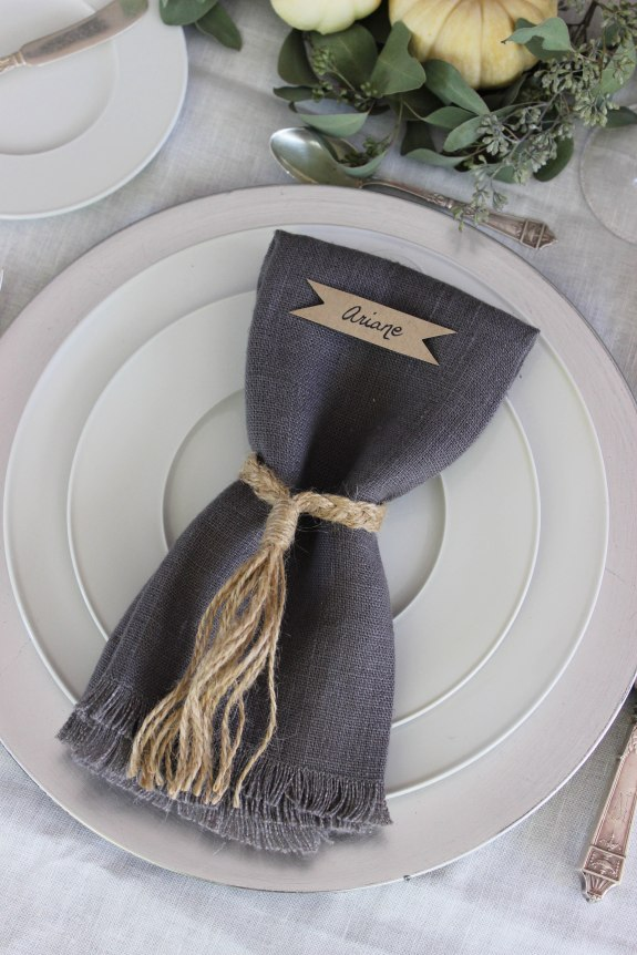 braid napkin ring