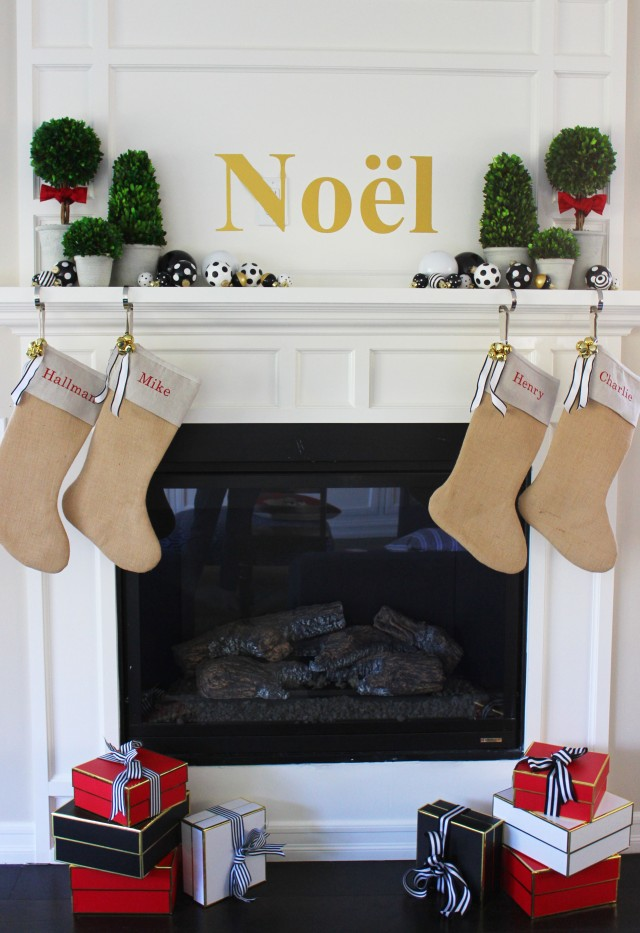 Christmas mantel2