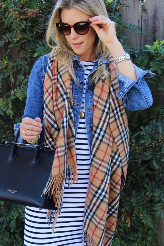 plaid blanket scarf 2