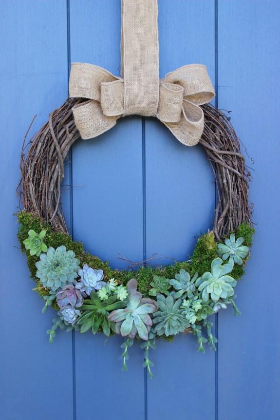 succulent wreath 7
