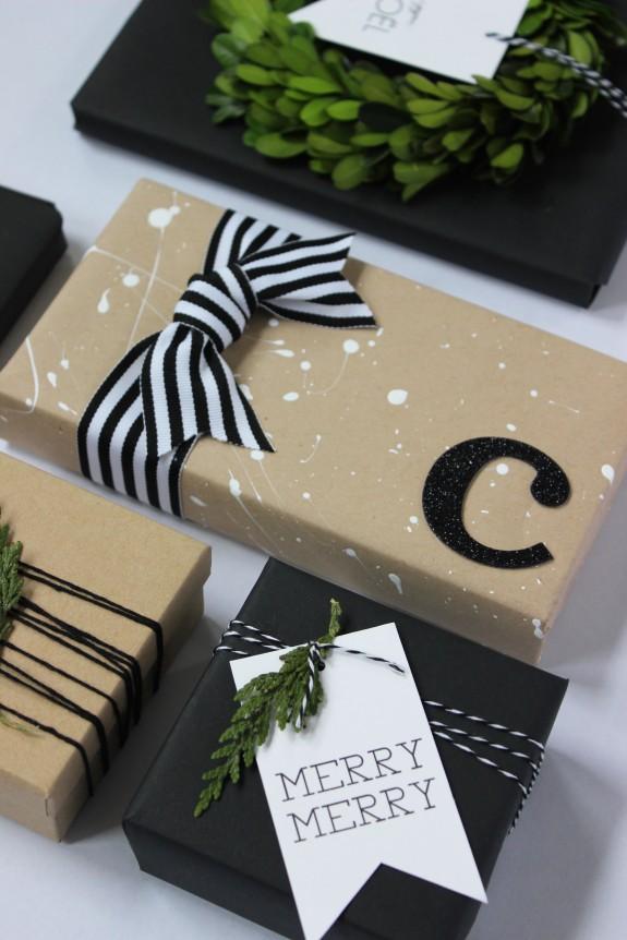 kraft paper gift wrap 1