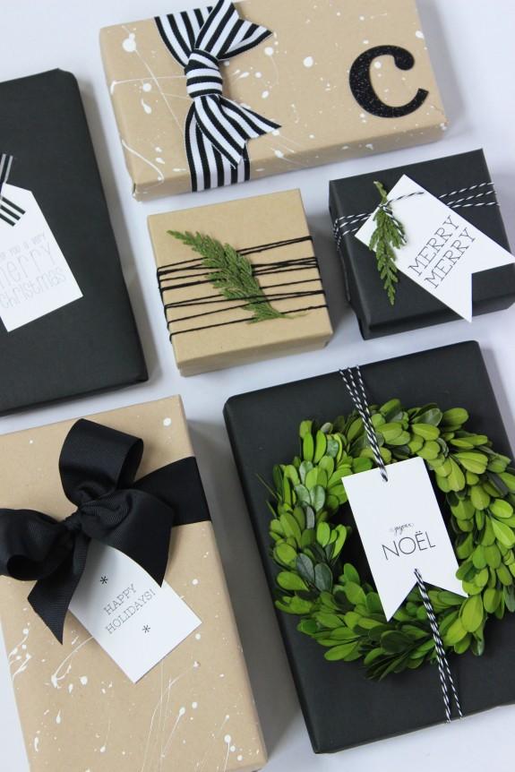 kraft paper gift wrap 7