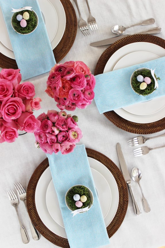 easter place setting 14