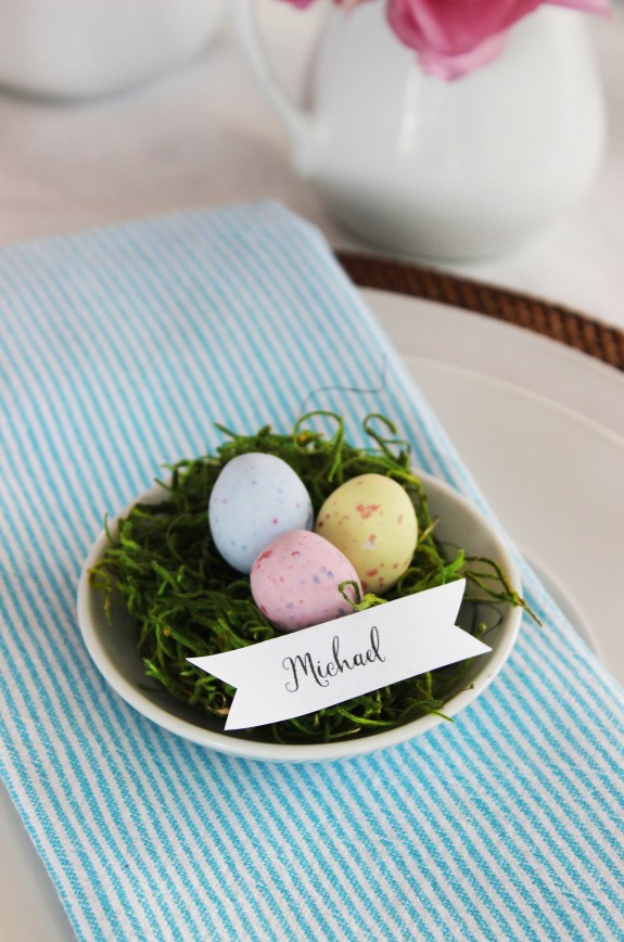 easter place setting 8