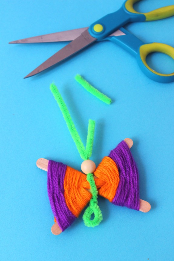 popsicle stick butterflies 7